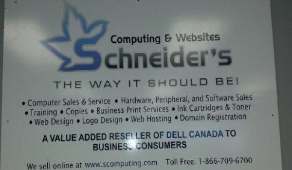 Group Millenium Micro - Schneider's Computing & Websites Ltd