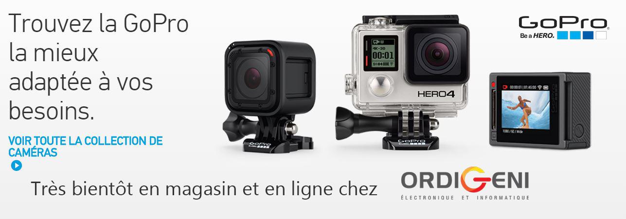 GoPro disponible chez ORDIGENI