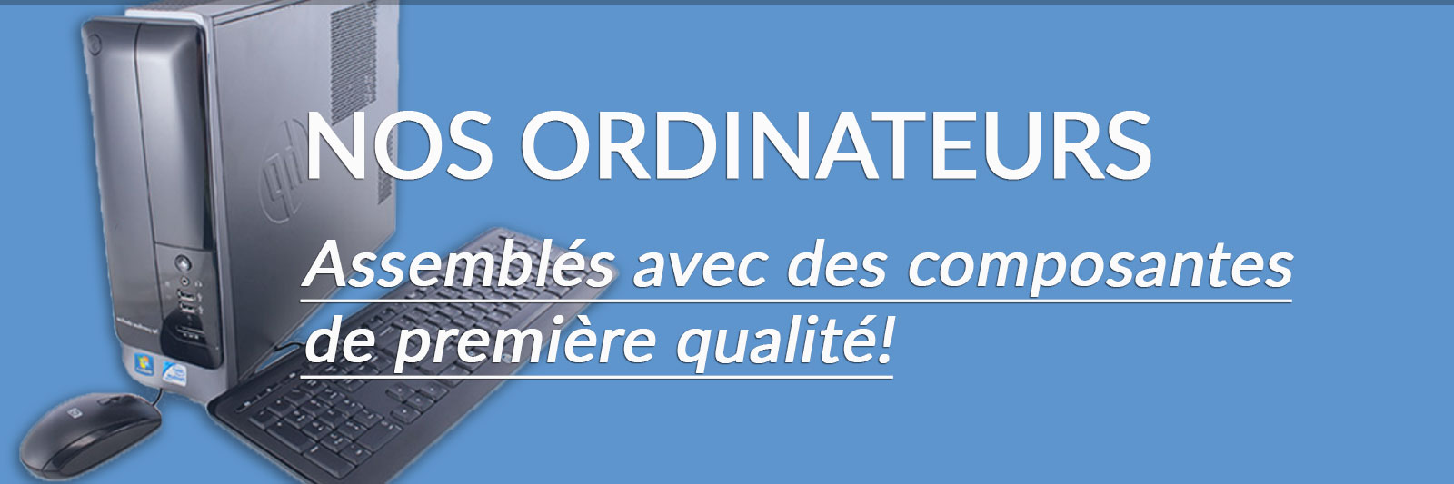 nos ordinateurs